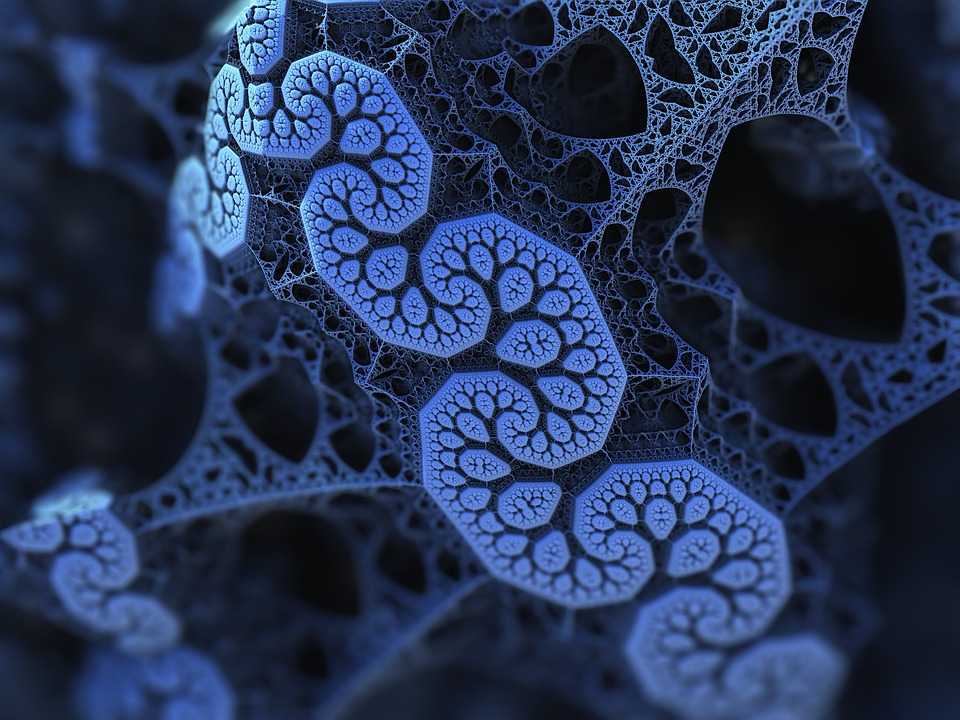 Fractal azul