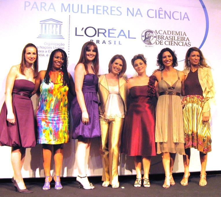 Vencedores do Prêmio Para Mulheres na Ciência em 2008
